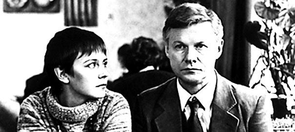 главные герои кинофильма Зимняя Вишня, Ленфильм, 1985г.
