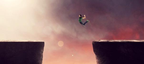 Как найти смелость шагнуть в неизвестное?